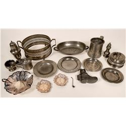 Amazing Antique Pewter Collection  (109765)