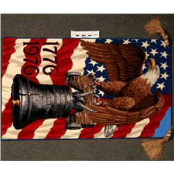 Bicentennial Patriotic Rug By Alexander Smith Carpet Co.  (122723)