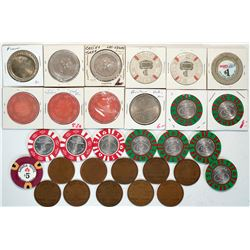 Nevada Gaming Chips & Tokens  (119323)