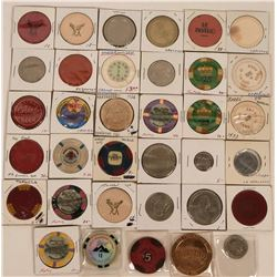 Miscellaneous Gaming Chips and Tokens  (123086)