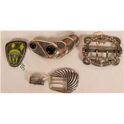 Quartet of Belt Buckles  (121506)