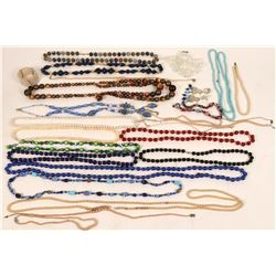 Variety of Beaded Necklaces  (121221)