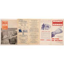 San Francisco Travel Brochures (3)  (105424)