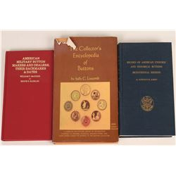 Historical Buttons Reference Books (3)  (118963)