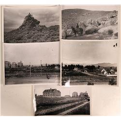 University of Nevada and Reno Black & White Reproduction Photographs  (5)  (110671)