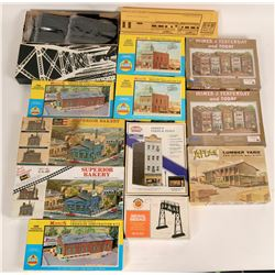 Model Train: Assembly Kits for HO buildings  (121071)