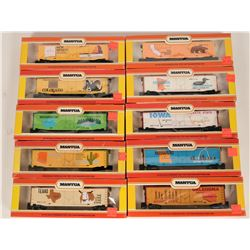Model Train: Commemorative State Box Cars HO, West, Mid West  (121303)