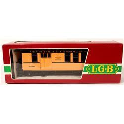 Model Train: Denver & Rio Grande Baggage G Scale  (121055)