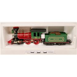 Model Train: G scale 4-4-0 engine and Tender  (121058)