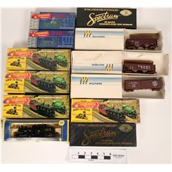 Model Train: HO 3 Diesels and rolling stock  (121063)