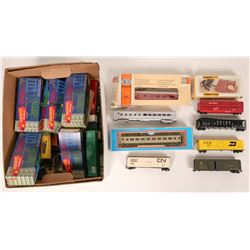 Model Train: HO collection of rolling stock, transformers.  (121325)