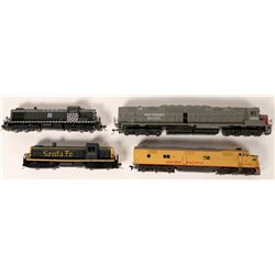 Model Train: HO Diesel Locomotives  (121043)