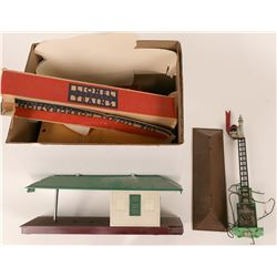Model Train: Lionel Buildings, Diesel engine and Maintenance kit  (117777)
