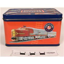 Model Train: Lionel dread box size tin w/collectible content  (121045)