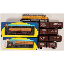Model Train: U.P. Freight train  (121035)
