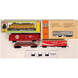 Model Train: Union Pacific Loco and other rolling stock HO  (121044)