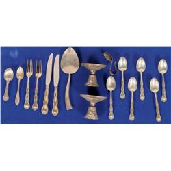 Silver Spoons, Knives, Etc.  (120911)