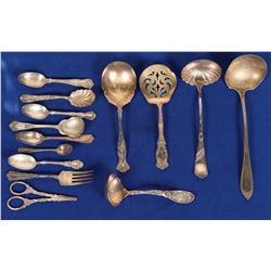 Sterling Silver Spoons & Serving Utensils  (121597)