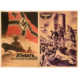 Boat Themed German Propaganda Posters, WW2 (2)  (110629)