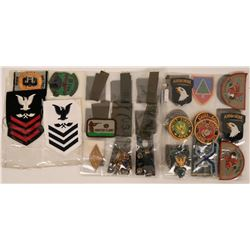 Collection of Military Patches  (122759)