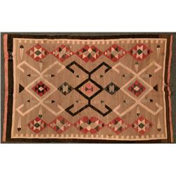 Five Damaged Navajo Rugs  (121266)