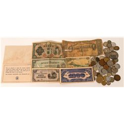 Foreign Coin and Currency Collection  (121406)
