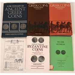 Ancient Greek Coins Reference Books  (118972)