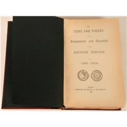 Rare 1889 Reference Book on British Coins  (118978)