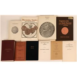 Colonial America Numismatics Reference Books  (118974)