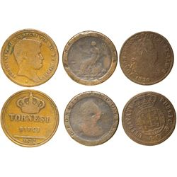 Early Coppers (3)  (61050)