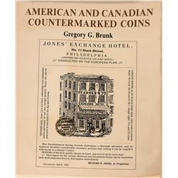 Rare U.S. and Canadian Countermarked Coins Book  (118983)