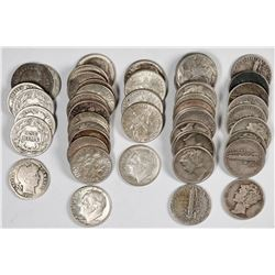 Silver U.S. Dimes  (119789)