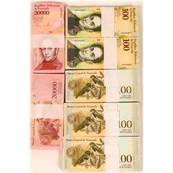 Venezuela Uncirculated Banknotes (7)  (122722)