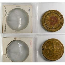 Calendar Medal 1868  (120136)