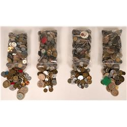 Grab Bag of Tokens, Medals etc (About 20 pounds!)  (120013)