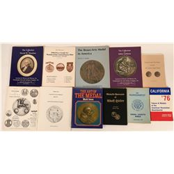Numismatic Medals Book Collection  (118933)
