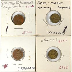 Stagecoach Spiel Markes  (121454)