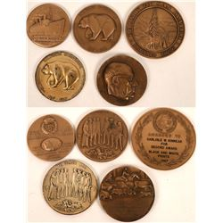 Assorted Commemorative Medals  (122548)