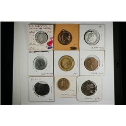 George Washington Medals & Tokens  (121467)