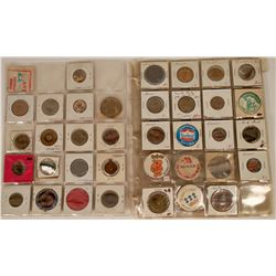 Grocery Store Brand Foods Tokens, Medals & Pinbacks  (120240)