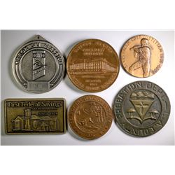 Medals Assortment on Various Themes  (122558)