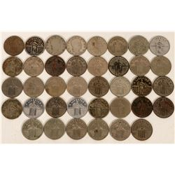 Standing Liberty Quarter Counters  (120129)
