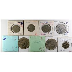 U.S. Coin Obverses Counters  (120134)