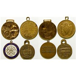 Plumbers Union Medals  (108577)