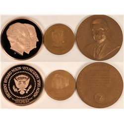 U.S. President Inauguration Medals  (122555)