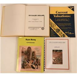 So-Called Dollars Reference Books (4)  (118934)