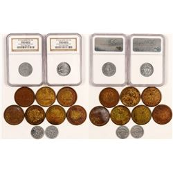 Arizona and Montana Token Collection  (108370)