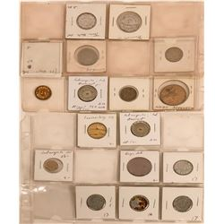 Indiana Tokens and Medals  (122701)