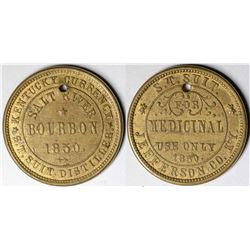 Salt River Bourbon Token  (121395)
