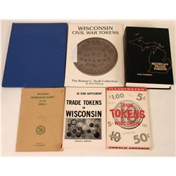 Michigan and Wisconsin Token Reference Books  (118941)